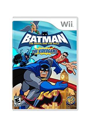 Wii- Batman: The Brave & The Bold