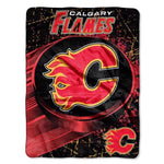 Calgary Flames Super Plush Throw