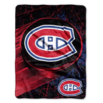 Montreal Canadiens Super Plush Throw