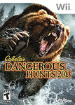 Wii- Cabela's Dangerous Hunts 2013