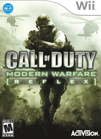 Wii- Call of Duty: Modern Warfare: Reflex