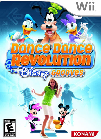 Wii- DanceDanceRevolution Disney Grooves