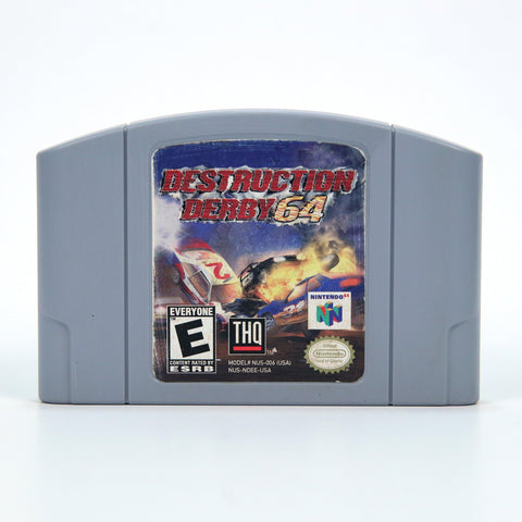 N64- Destruction Derby 64
