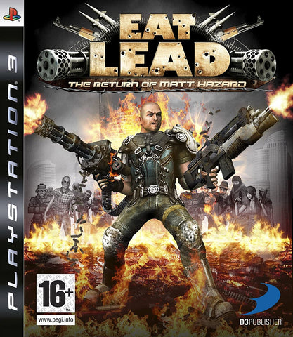 PS3- Eat Lead: Return of Matt Hazard