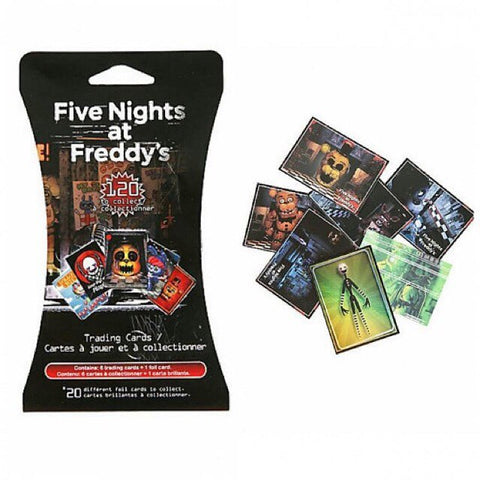 Five Nights at Freddy's Trading Cards (6 Packs)