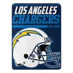 Los Angeles Chargers Plush Throw