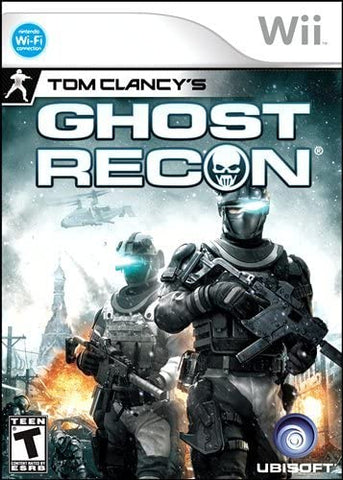Wii- Tom Clancy's Ghost Recon