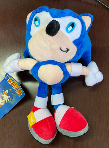 "8"" Sonic Plush (Blue Eyes)"