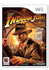 Wii- Indiana Jones and the Staff of Kings