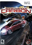 Wii- Need for Speed: Carbon