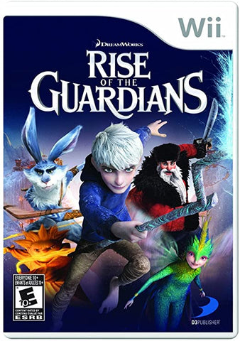 Wii- The Rise of the Guardians