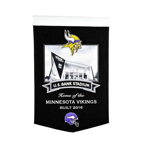 Minnesota Vikings: U.S. Bank Stadium Banner