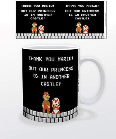Mario- Super Mario Another Castle Mug