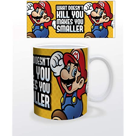 Mario- Super Mario Makes You Smaller Mug