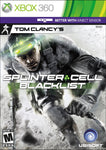 XB360- Tom Clancey's Splinter Cell Blacklist