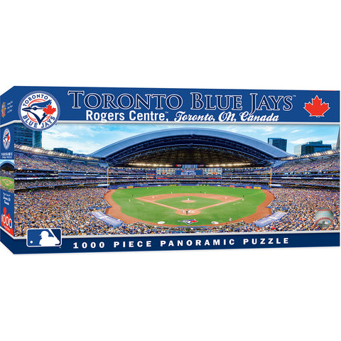 Puzzle- Toronto Blue Jays Panoramic Puzzle