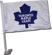 NHL: Toronto Maple Leafs Car Flag