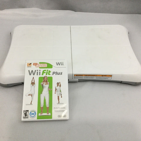 Wii- Wii Fit Plus with Balance Board