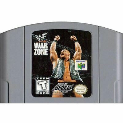 N64: WWF War Zone