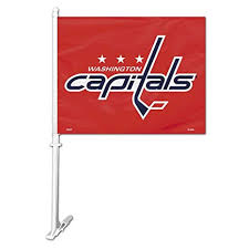 NHL: Washington Capitals Car Flag