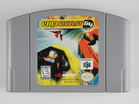 N64- Wipeout 64