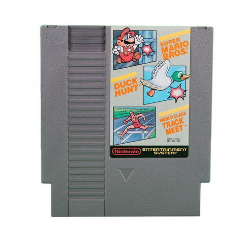 NES- Super Mario Bros./ Duck Hunt/ World Class Track Meet