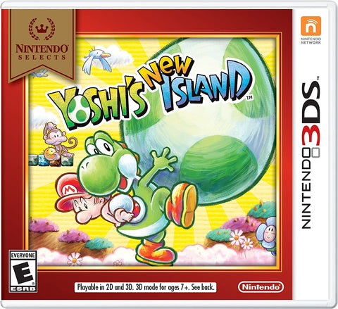 3DS- Yoshi's New Island