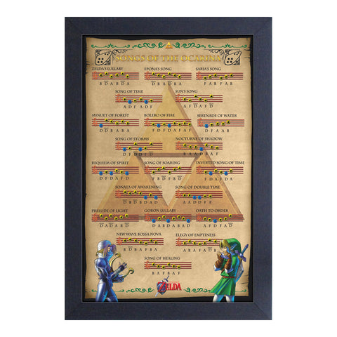 Zelda - Songs of the Ocarina Framed Print