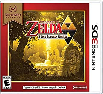 3DS- The Legend of Zelda: A Link Between Worlds