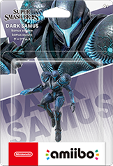Dark Samus Smash Bros. Amiibo