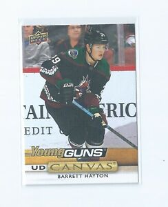 Barrett Hayton #C222 Young Guns UD Canvas 2019-20 Upper Deck S2