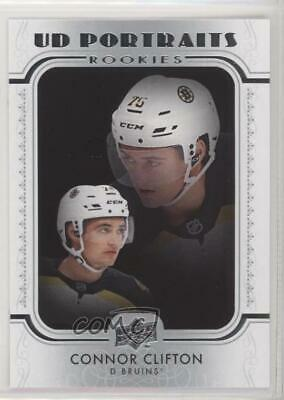 Connor Clifton #P-57 UD Portraits Rookies Upper Deck S2