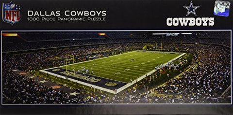 Puzzle- Dallas Cowboys 1,000pc Panoramic Stadium Puzzle