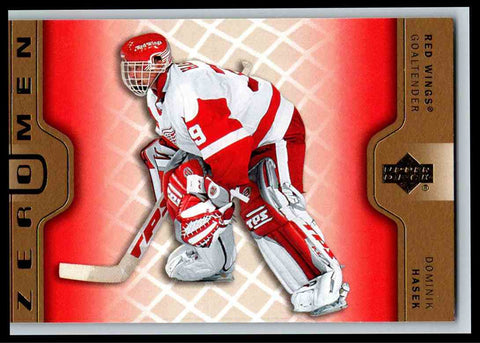 Dominik Hasek #ZM2 Zero Men 2006-07 Upper Deck S2