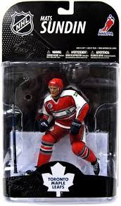 "NHL: Mats Sundin - Toronto Maple Leafs - All Star 6"" McFarlane"