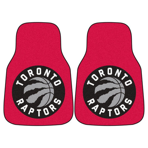 Car Floor Mat: Toronto Raptors - Team Logo & Name