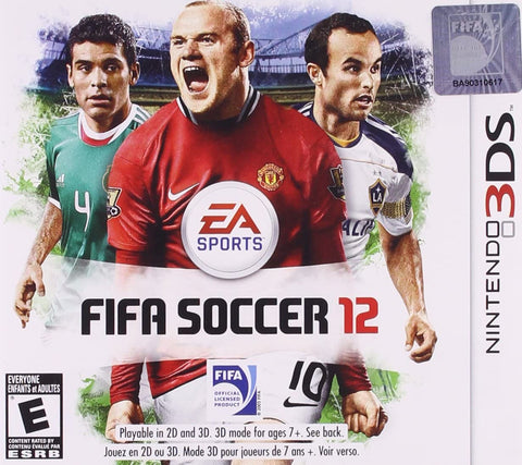 3DS- FIFA Soccer 12 (Cartridge Only)