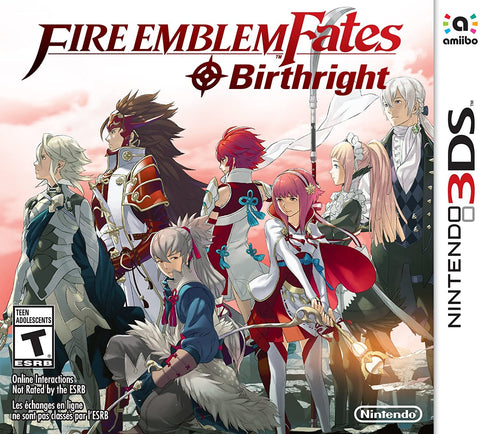 3DS- Fire Emblem Fates: Birthright