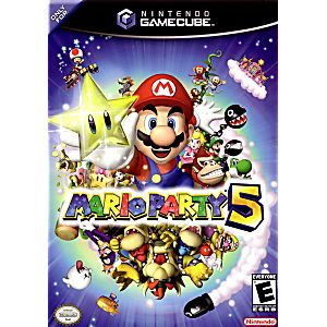 Gamecube- Mario Party 5