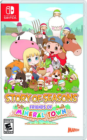 Harvest Moon Story of Seasons - Friends of Mineral Town Switch