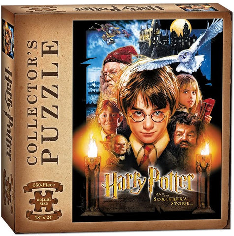 Puzzle- Harry Potter 550pc Puzzle - Sorcerer's Stone