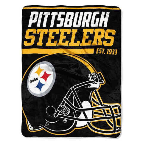 Pittsburgh Steelers Super Plush Throw