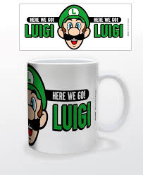 Mario- Here We Go Luigi Mug