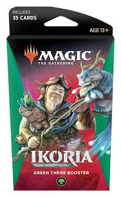 Magic The Gathering: Ikoria Theme Booster Green