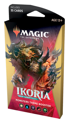 Magic The Gathering: Ikoria Theme Booster Monsters