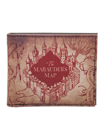 Marauder's Map - Harry Potter Bi-fold wallet