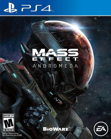 PS4- Mass Effect Andromeda