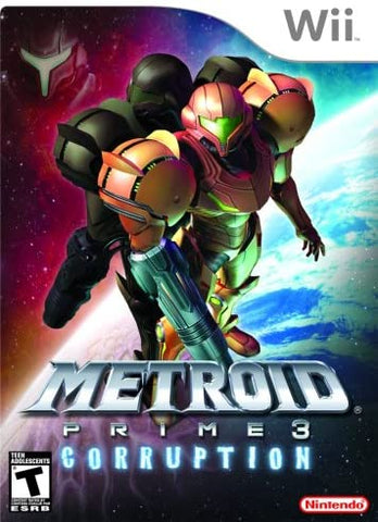 Wii- Metroid Prime 3: Corruption