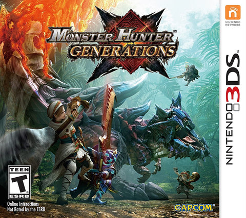 3DS- Monster Hunter Generations