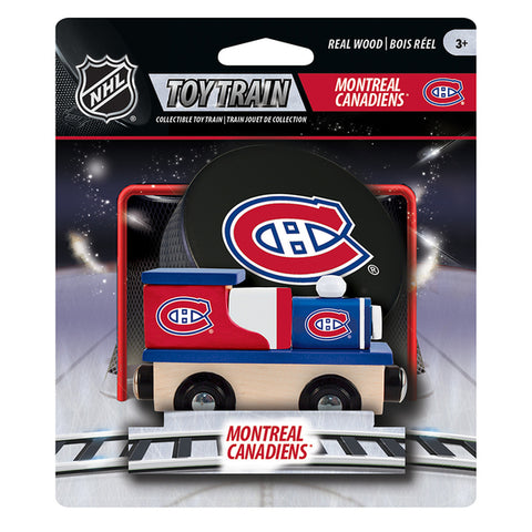 NHL: Wood Train: Montreal Canadiens
